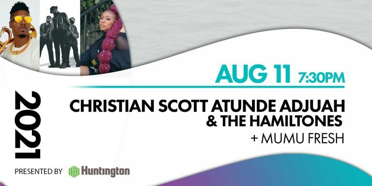 Christian Scott Atude Adjuah and the hamiltones